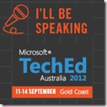 TechEd_Speaker blog-bling