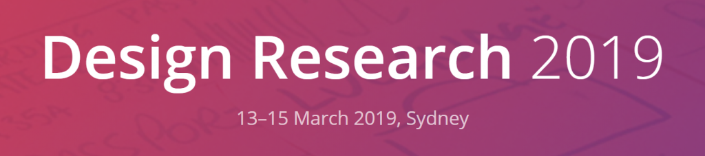 Design Research 2019 banner
